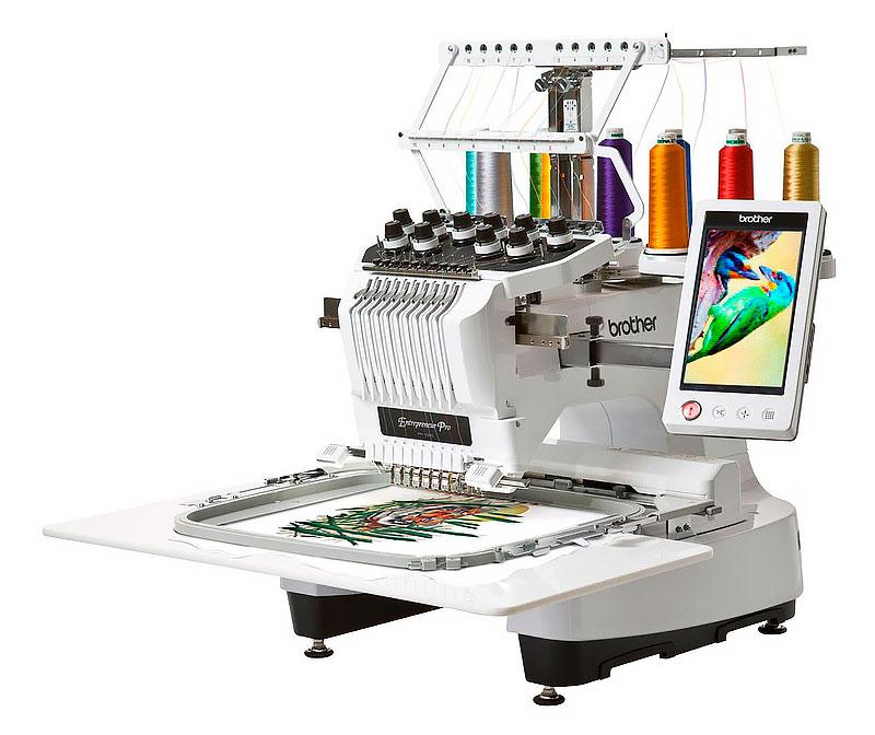 Швейная машинка с чпу для вышивки